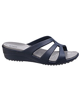 Crocs Sanrah Strappy Ladies Wedge