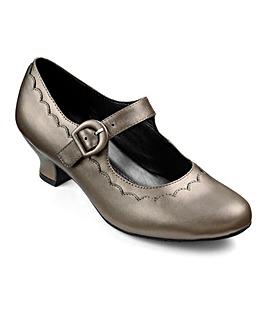 Hotter Bridgette Buckle Strap Shoe