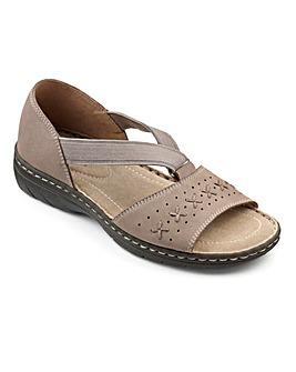 Hotter Dotty Slip On Sandal