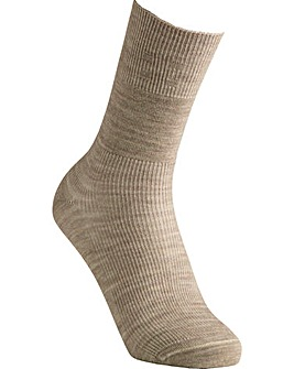 Extra Roomy Wool Seam-Free Socks
