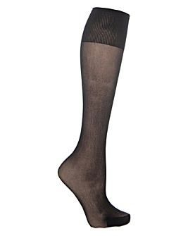 Extra Roomy Premium Knee Highs