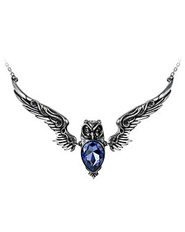 Alchemy Gothic Stryx Owl Necklace