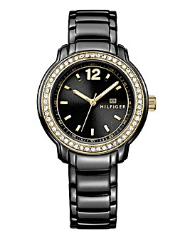 Tommy Hilfiger Callie Ladies Watch Black