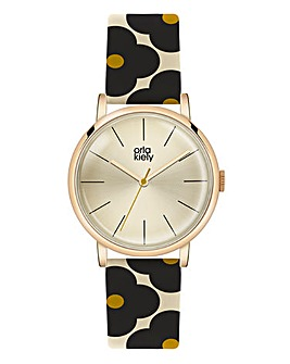 Orla Kiely Ladies Flower Strap Watch
