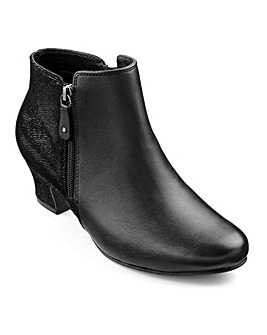 Hotter Delight Dual Zip Boot
