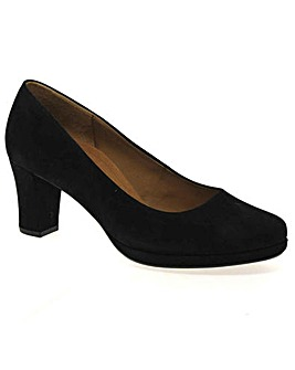 Gabor Ella Womens Suede Court Shoes