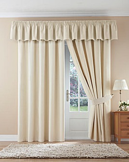 Velour Pencil Pleat Curtains