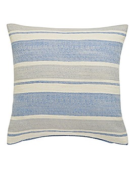 Denver Boucle Stripe Filled Cushion