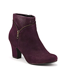 Hotter Vanity Ankle Boot