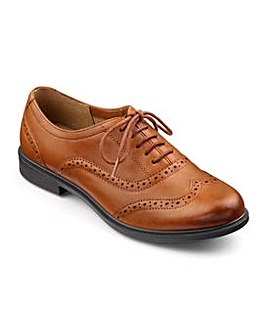 Hotter Village Wide Fit Brogue