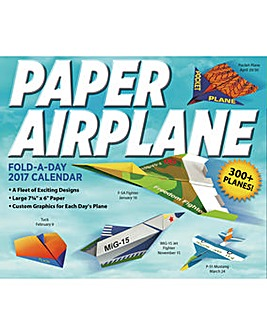 Craft A Day Calendar Paper Airplane