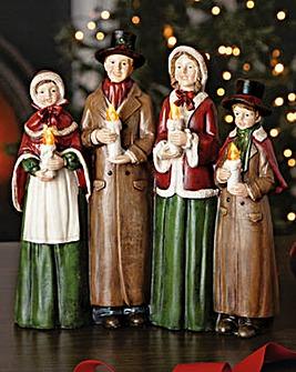 Carol Singers LED Ornament