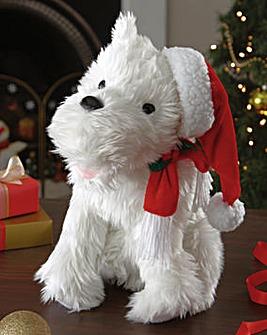 Christmas Crooning Terrier