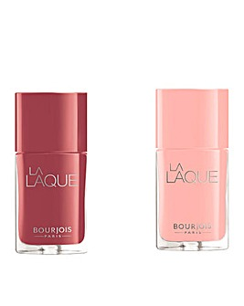 Bourjois La Laque Nail Polish Duo Set