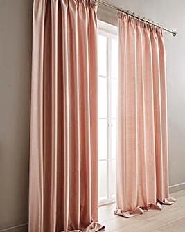 Faux Silk Pencil Pleat Curtains