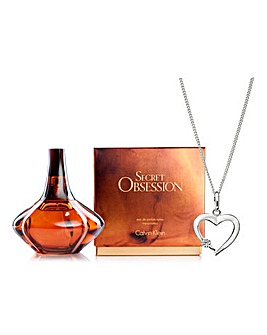 CK Secret Obsession 50ml & FREE Pendant