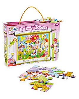 Fairy Town Floor Puzzle