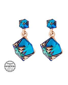 Jon Richard swarovski cube earring