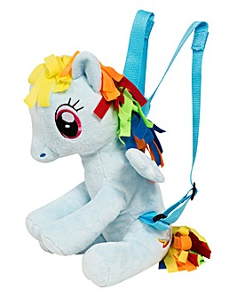 My Little Pony Rainbow Dash Plush Backpk