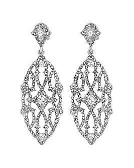 Jon Richard cut out clip on earring