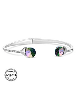 Jon Richard swarovski peardrop bangle