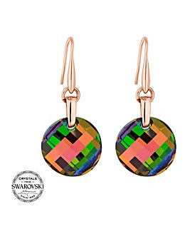 Jon Richard swarovski disc earring