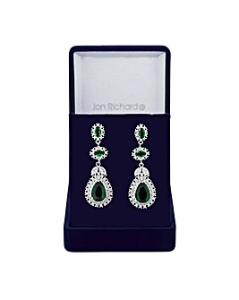 Jon Richard peardrop statement earring