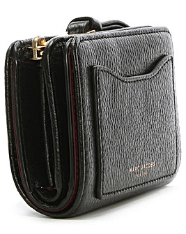 Marc Jacobs Black Leather Compact Wallet