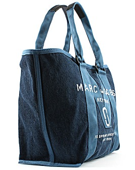 Marc Jacobs Printed Denim Tote Bag