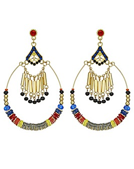 Mood oversized hoop earring