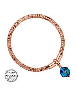 Jon Richard swarovski cube bracelet