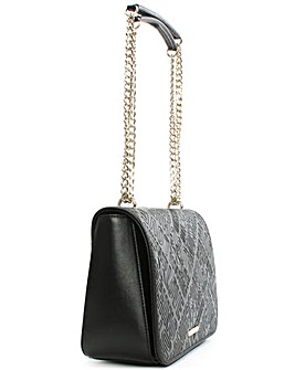 Love Moschino Embossed Logo Cross-Body