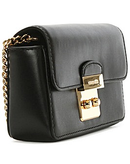 Michael Kors Leather Chain Strap Wallet