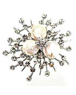 Lizzie Lee Fresh Water Pearl Brooch