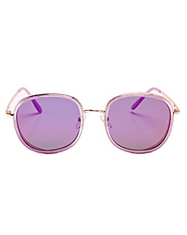 Zoe Pink Frame Sunglasses