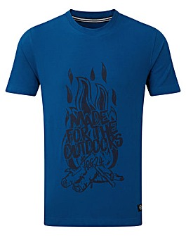 Tog24 Galaxy Mens T-shirt Fire