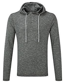 Tog24 Davis Mens Deluxe Hooded T-Shirt