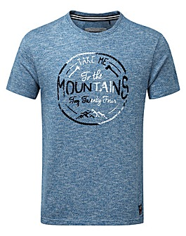 Tog24 Kilter Mens T-shirt Mountains