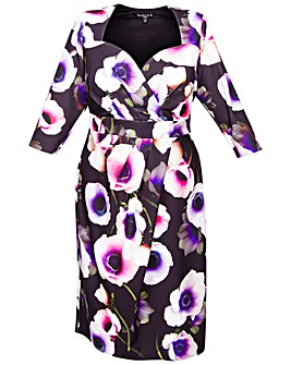 Scarlett & Jo Floral Bodycon Dress