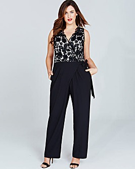Little Mistress Black Jumpsuit