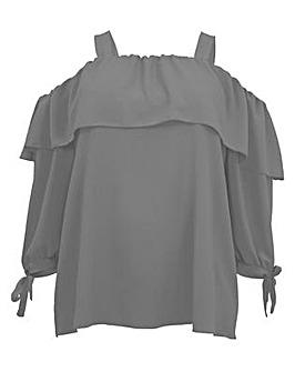 Koko Bardot Long Sleeve Top