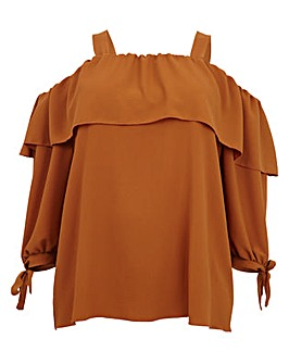 Koko Bardot Long Sleeve Top