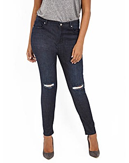Koko Ripped Knee Detail Skinny Fit Jeans