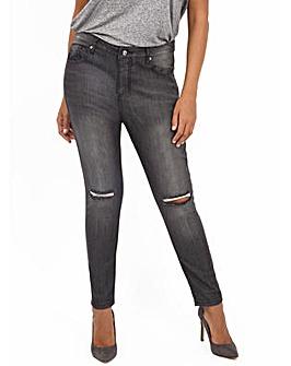 Koko Ripped Knee Detail Skinny Fit Jeans