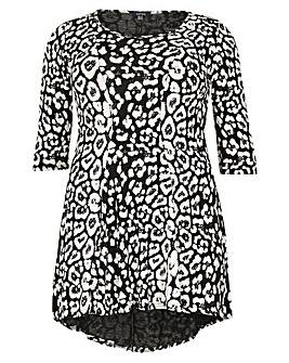 Samya Leopard Print Top