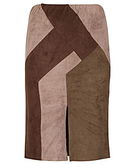 Samya Colourblock Skirt