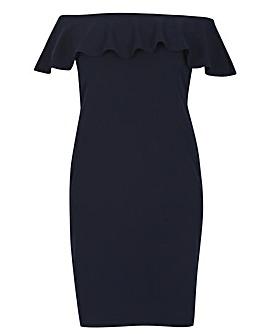 Samya Bardot Style Bodycon Dress