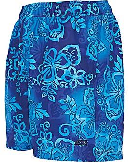 Zoggs Blue Fade Short