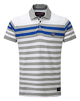 Tog24 Campbell Stripe Mens Polo Shirt