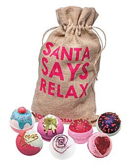 Bomb Cosmetics Santa